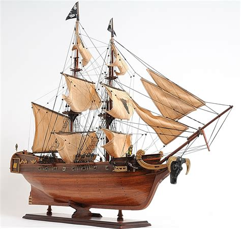 Wooden Model Pirate Ship Plans
