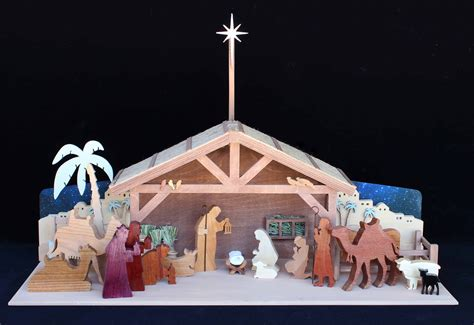 Wooden Nativity Plans