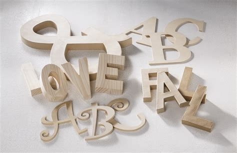 Wooden Numbers Craft Michaels