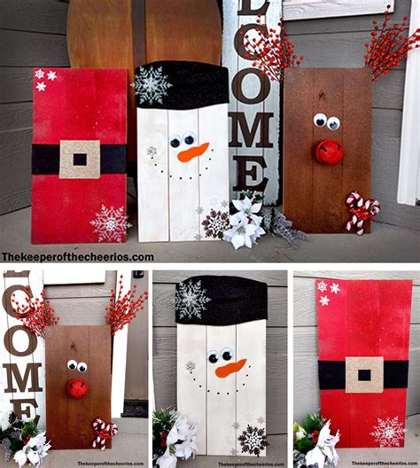 Wooden Pallet Ideas For Christmas