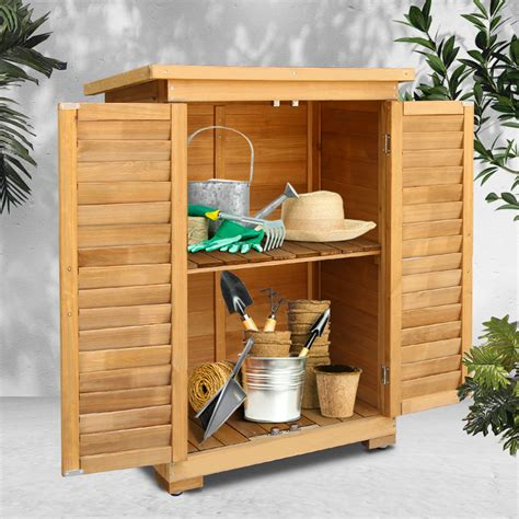 Wooden Patio Cabinet Plans