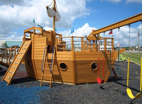 Wooden Pirate Ship Playhouse Plans