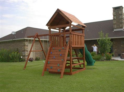 Wooden Play Fort Plans