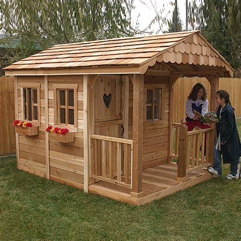 Wooden Playhouse Kits Plans