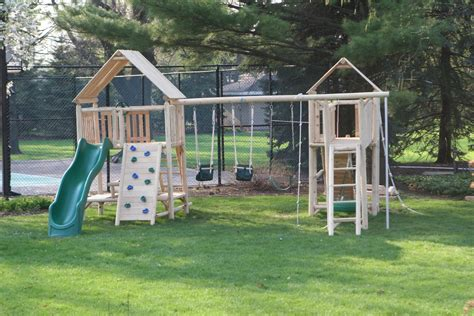 Wooden Playscape Plans