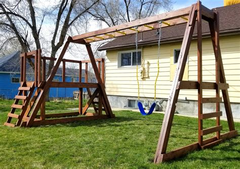 Wooden Playset Free Plans