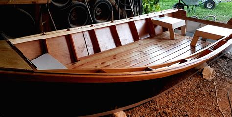 Wooden Power Dory Plans