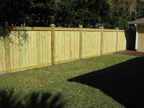Wooden Privacy Fence Building Plans