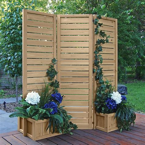 Wooden Privacy Screen Kit