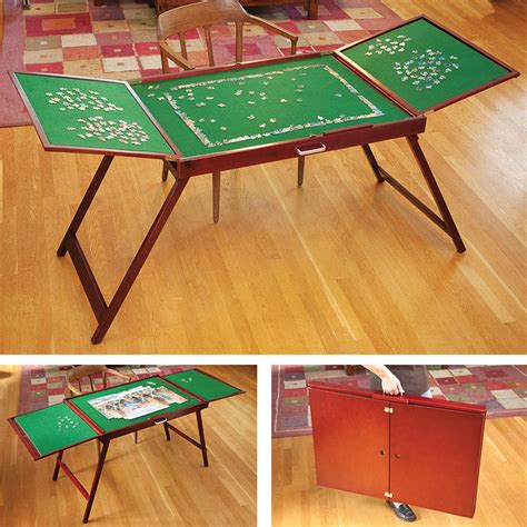 Wooden Puzzle Table Plans