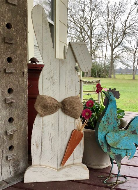Wooden Rabbit Crafts