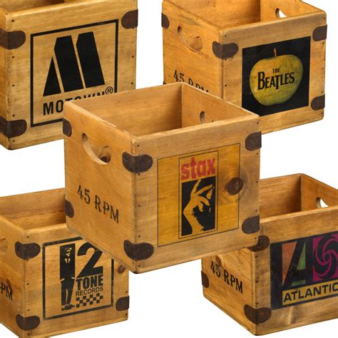 Wooden Record Crate Plans