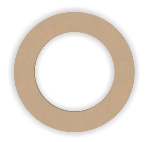 Wooden Rings Craft Shapes