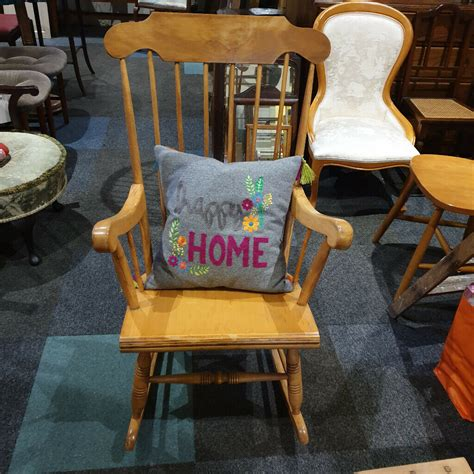 Wooden Rocking Chair Edinburgh