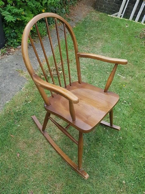 Wooden Rocking Chair London