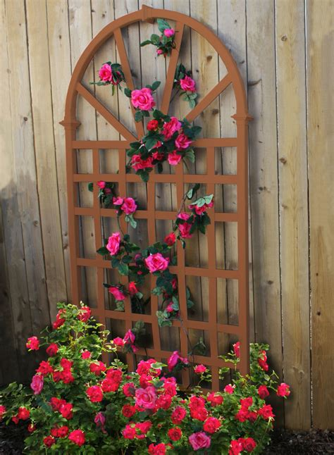 Wooden Rose Trellis Plans