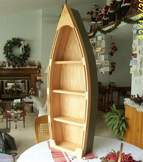 Wooden Row Boat Bookcase Plans