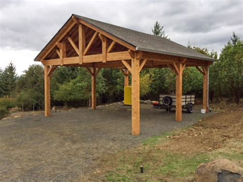 Wooden Rv Carport Plans