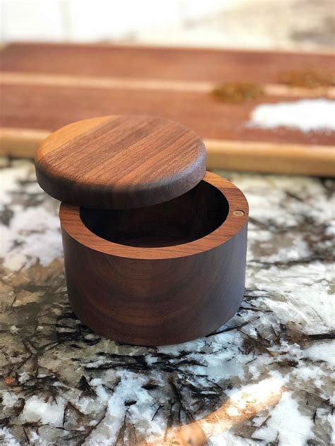 Wooden Salt And Pepper Cellars