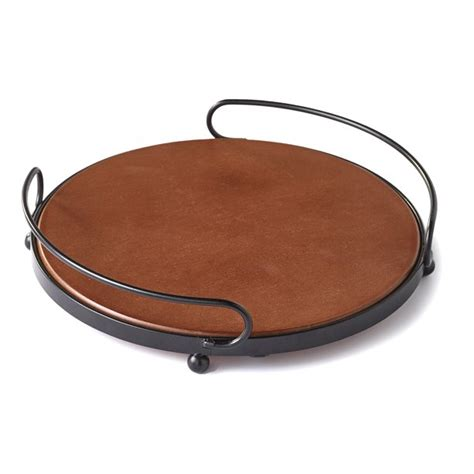 Wooden Serving Tray With Handles Plansource