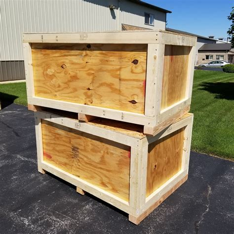 Wooden Shipping Crate Plans