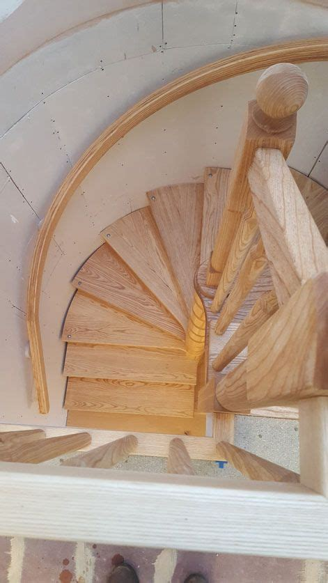Wooden Spiral Staircase Plans Free