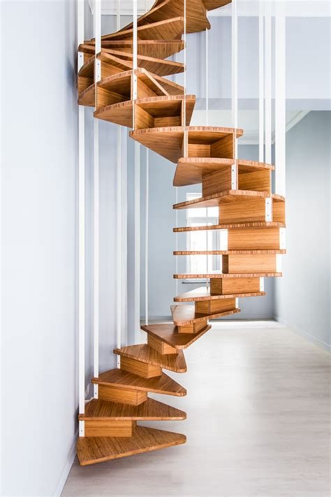 Wooden Spiral Stairs Plans