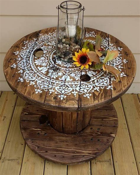 Wooden Spool Diy Table Base