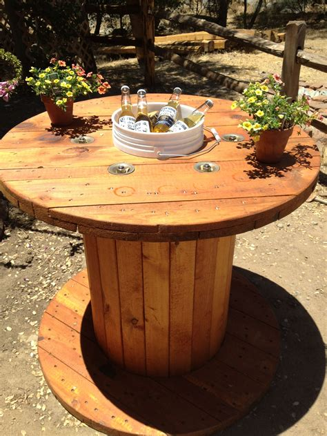 Wooden Spool Table Ideas