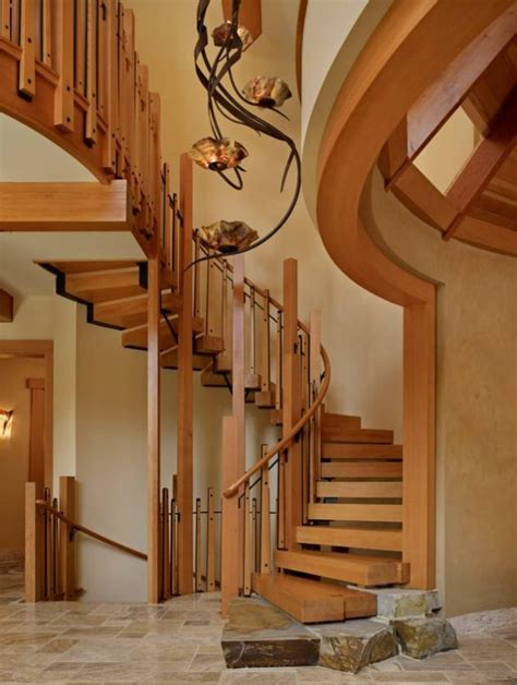 Wooden Staircase Design Plans