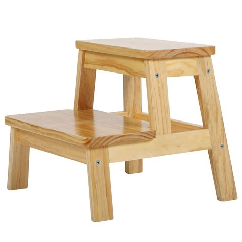 Wooden Step Stool For Toddlers
