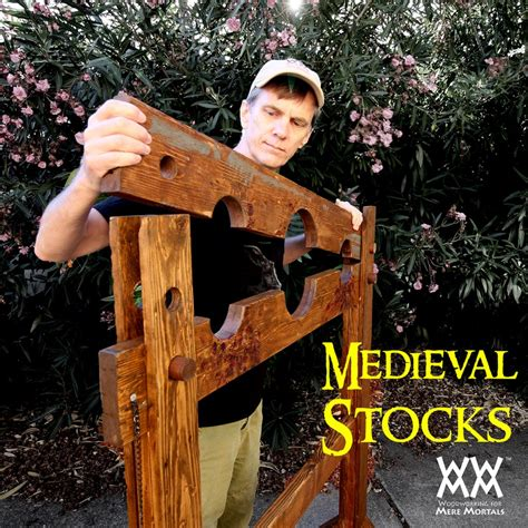 Wooden Stocks Plans
