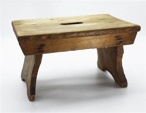 Wooden Stool Feet