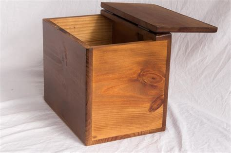 Wooden Storage Box With Lid Plans