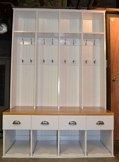 Wooden Storage Locker Plans