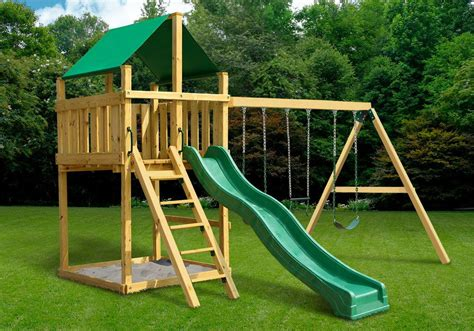 Wooden Swing Set Plans And Kits Youtube