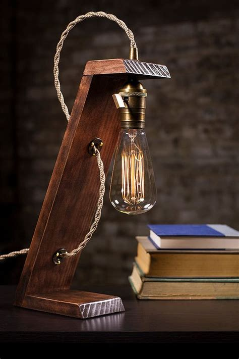 Wooden Table Lantern Diy Decor