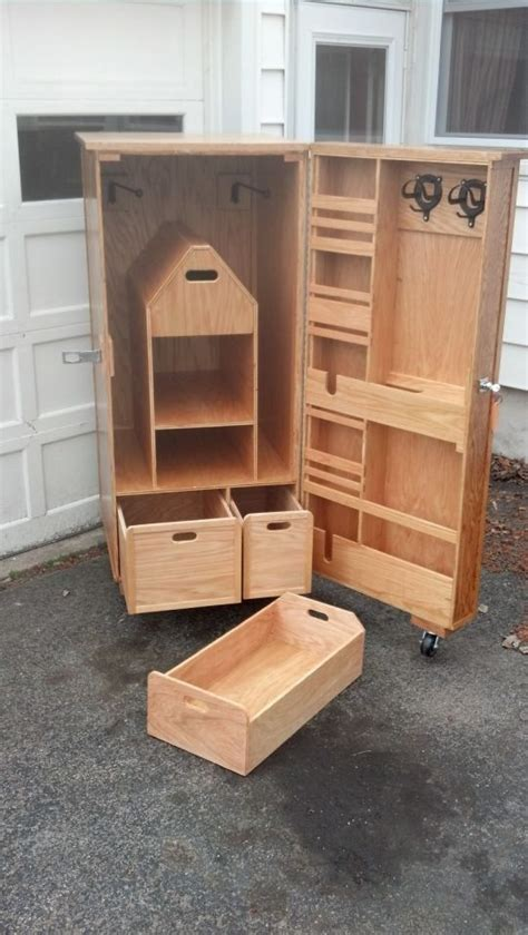 Wooden Tack Locker Plans