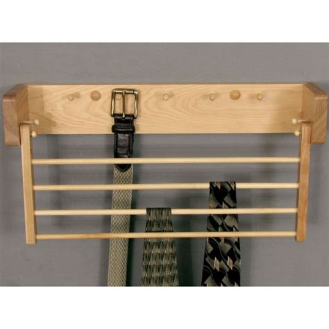 Wooden Tie Rack Plans