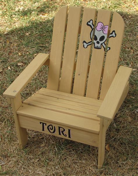 Wooden Toddler Chair Plans