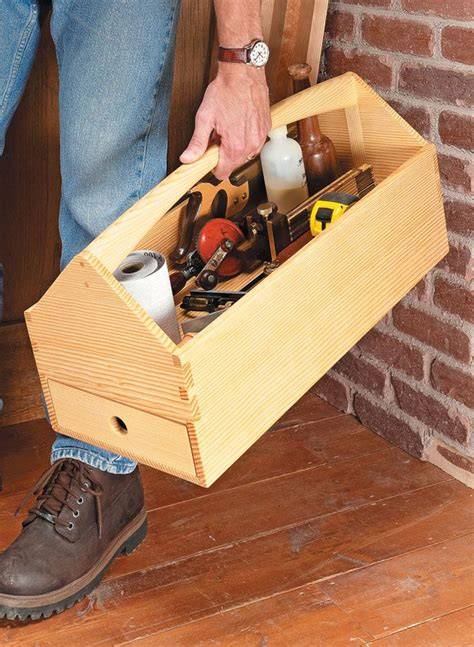 Wooden Tool Box Tote Plans