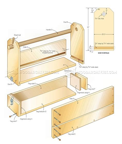Wooden Toolbox Plans Free