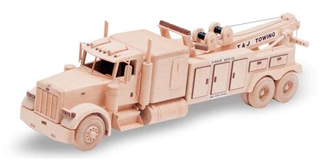 Wooden Tow Truck Plans