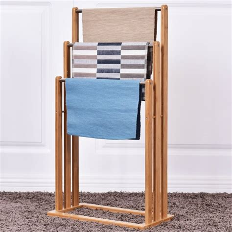 Wooden Towel Rail Freestanding Pet Barriers