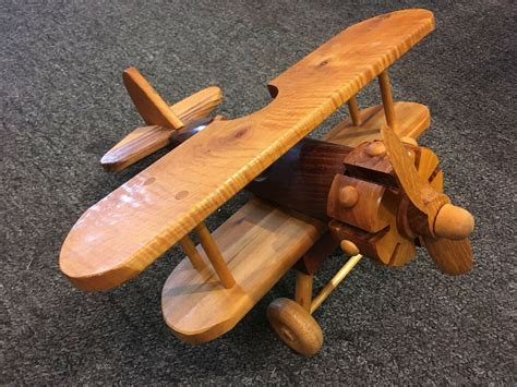 Wooden Toy Airplanes On Ebay