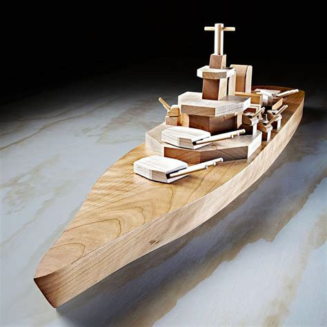 Wooden Toy Battleship Plans