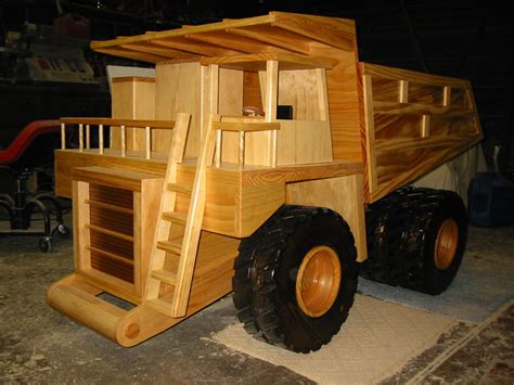 Wooden Toy Construction Equipment Planswift
