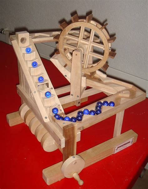 Wooden Toy Marble Machine Free Plans