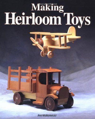 Wooden Toy Plans Book
