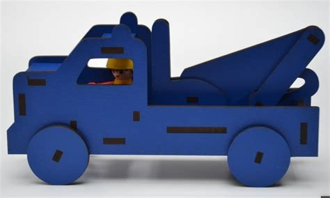 Wooden Toy Truck Templates For Graphics